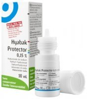 HYABAK PROTECTOR krople do oczu 0,15% 10 ml