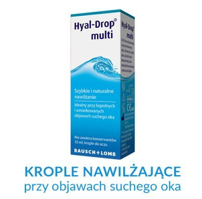 20559d801d9951 HYAL-DROP MULTI krople do oczu nawilżające 10 ml - cena i opinie ...