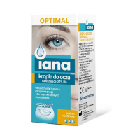 IANA OPTIMAL Krople do oczu Nawilżające 0,1% HA 10 ml