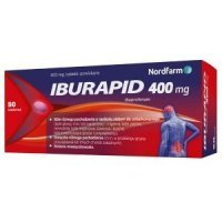 IBURAPID 400 mg 50 tabletek Nord Farm