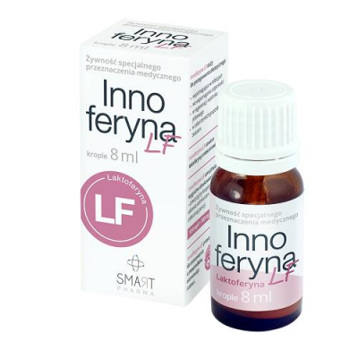 INNOFERYNA LF 0,01 g/daw. krople 8 ml