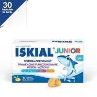 ISKIAL JUNIOR 30 kapsułek do żucia