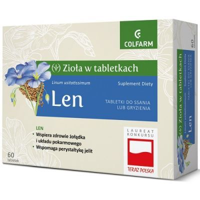 LEN 60 tabletek do ssania COLFARM
