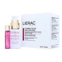 LIERAC ANTI-TACHES CORRECTION ACTIVE program przeciw przebarwieniom Roll-on 5 ml + flakon 30 ml