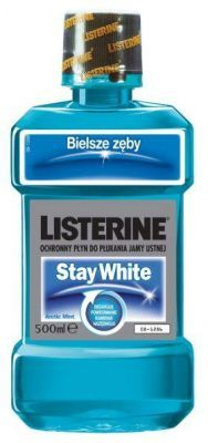 LISTERINE STAY WHITE płyn do płukania jamy ustnej 500 ml