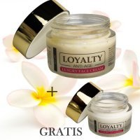 LOYALTY Anti-Age luksusowy krem do twarzy 50 ml + LOYALTY krem pod oczy GRATIS