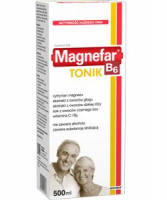 MAGNEFAR B6 Tonik płyn 500 ml