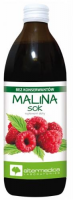 MALINA Sok 500 ml ALTER MEDICA
