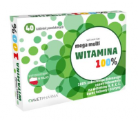 MEGA MULTIWITAMINA 40 tabletek AVET