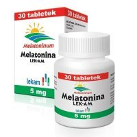 MELATONINA 5 mg 30 tabletek