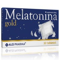 MELATONINA GOLD 30 tabletek ALG PHARMA