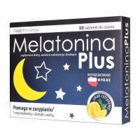 MELATONINA PLUS 30 tabletek do ssania AVET PHARMA