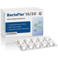 INTERCELL PHARMA BactoFlor 10/20 100 kapsułek