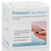 INTERCELL PHARMA Fetusan plus Omega-3 - Intercell 72 kapsułki