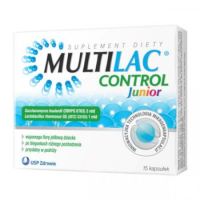 MULTILAC CONTROL JUNIOR 15 kapsułek