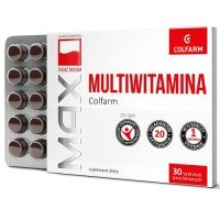 MULTIWITAMINA 30 tabletek COLFARM