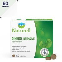 NATURELL GINKGO INTENSIVE 60 tabletek