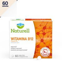 NATURELL WITAMINA B12 60 tabletek do ssania