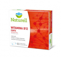 NATURELL WITAMINA B12 FORTE 60 tabletek do ssania