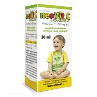 NEOVIT C JUNIOR witamina C 100 mg/ml krople 30 ml