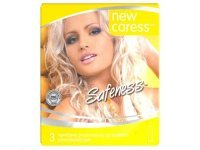 NEW CARESS SAFENESS prezerwatywy 3 sztuki