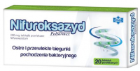 NIFUROKSAZYD POLFARMEX 200 mg  20 tabletek