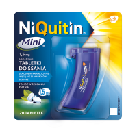 NIQUITIN MINI 1,5 mg 20 tabletek