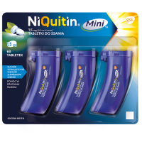 NIQUITIN MINI 1,5 mg 60 tabletek