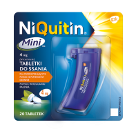 NIQUITIN MINI 4 mg 20 tabletek do ssania