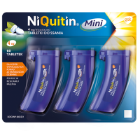 NIQUITIN MINI 4 mg 60 tabletek do ssania