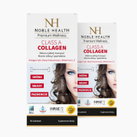 NOBLE HEALTH CLASS A COLLAGEN 2 x 90 tabletek + Class A Collagen 30 tabletek GRATIS