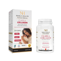 NOBLE HEALTH Class A Collagen dla MAMY 90 tabletek + Class A Collagen 30 tabletek GRATIS