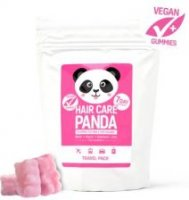 NOBLE HEALTH HAIR CARE PANDA TRAVEL PACK żelki z biotyną 70 g