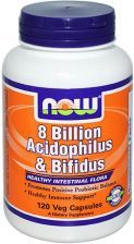 NOW FOODS 8 BILLION ACIDOPHILUS & BIFIDUS 120 kapsułek