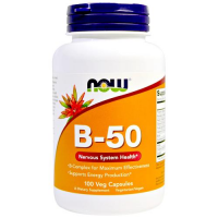 NOW FOODS B-50 Complex 100 tabletek