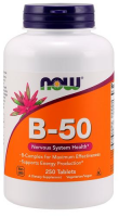 NOW FOODS B-50 Complex 250 tabletek