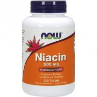 NOW FOODS NIACIN 500 mg 100 tabletek