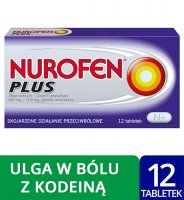 NUROFEN PLUS 12 tabletek