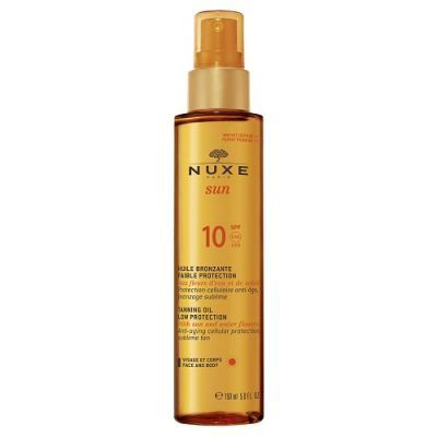 NUXE SUN SPF 10 olejek do opalania spray 150 ml