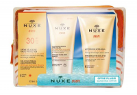 NUXE SUN Krem SPF30 50 ml + balsam po opalaniu 50 ml + żel pod prysznic 50 ml DATA 31.12.2019