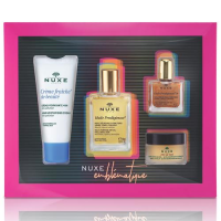NUXE ZESTAW BESTSELLERS 2019 olejek 30 ml+ Creme Fraiche 30 ml + olejek OR 10ml + balsam do ust 15ml