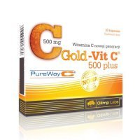 OLIMP GOLD-VIT C 500 PLUS 30 kapsułek