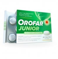 OROFAR TOTAL ACTION 24 tabletki do ssania