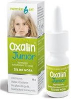 OXALIN JUNIOR żel do nosa 0,5 mg/g 10 g