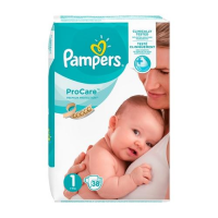 PAMPERS Pro Care 1 pieluchy (2 - 5 kg) 38 sztuk