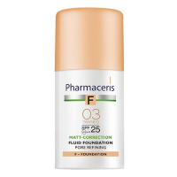 PHARMACERIS F FLUID MATUJĄCY SPF 25 TANNED 03 (opalony) 30 ml