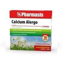 PHARMASIS CALCIUM ALERGO 16 tabletek