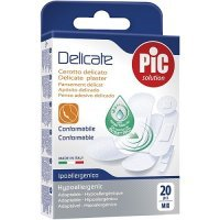 PIC SOLUTION DELICATE plastry mix 20 sztuk