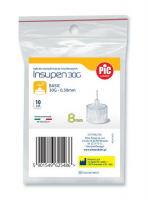 PIC SOLUTION INSUPEN Igły do penów insulinowych 30G 0,30 8mm 10 szt