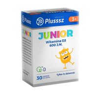 PLUSSSZ JUNIOR D3 do ssania 30 tabletek